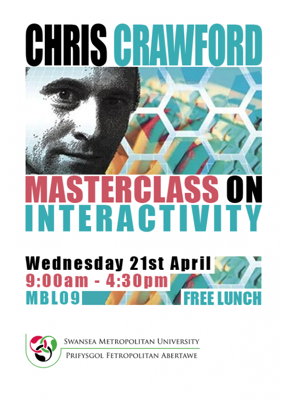 Chris Crawford Masterclass On Interactivity poster