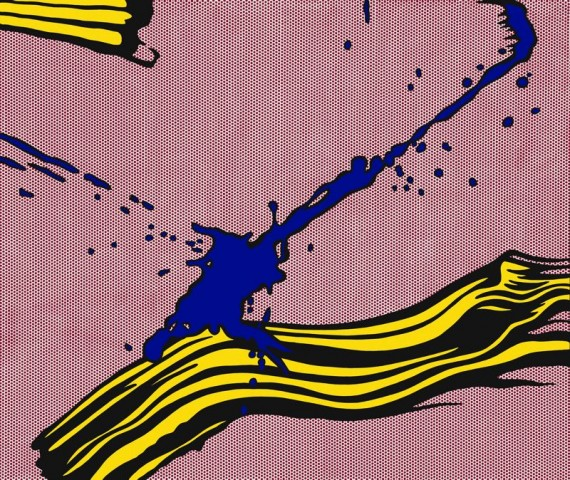 1966-brushstroke-with-spatter